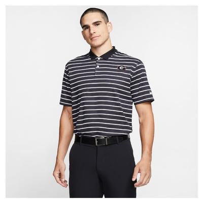 Georgia Nike Golf Men's Victory Strip Polo