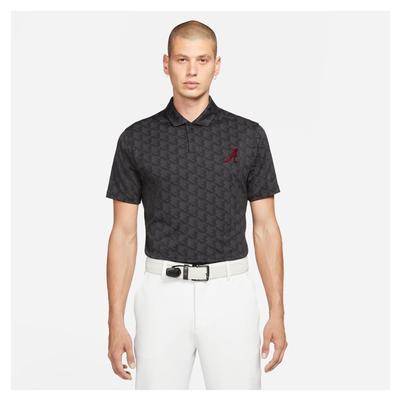 Alabama Nike Golf Men's Vapor Jacquard Polo