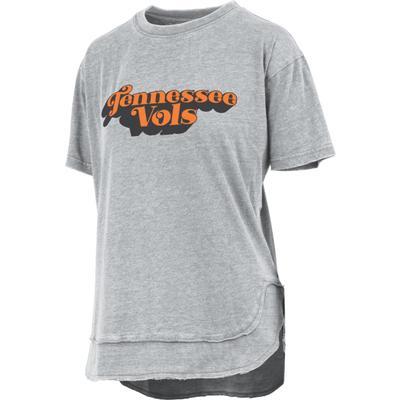 Tennessee Pressbox Easy Poncho Short Sleeve Tee