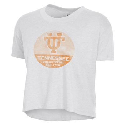 Tennessee Alternative Apparel Women's Headliner UT Circle Crop Tee