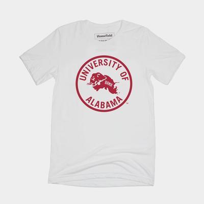 Alabama Homefield Retro Logo Short Sleeve Tee