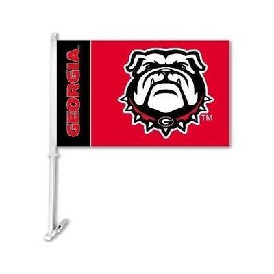 Georgia Bulldogs New Bulldog Car Flag