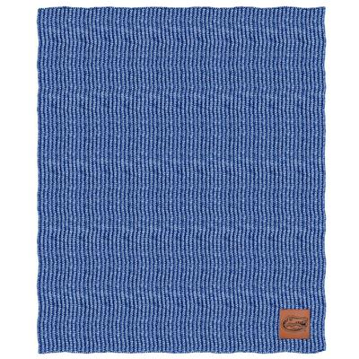 Florida Two Tone Cable Knit Blanket