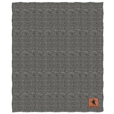 Florida State Two Tone Cable Knit Blanket