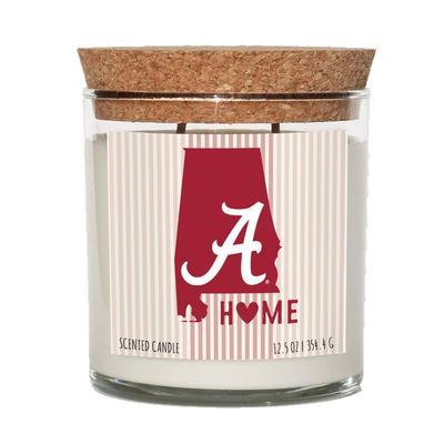 Alabama 12.5 oz Cork Top Candle