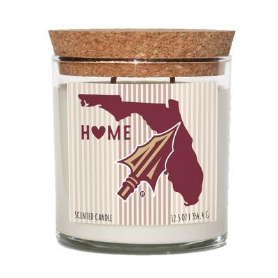 Florida State 12.5 oz Cork Top Candle