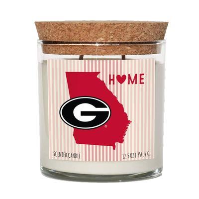 Georgia 12.5 oz Cork Top Candle