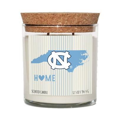 UNC 12.5 oz Cork Top Candle