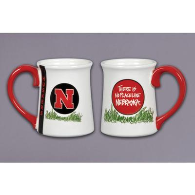 Nebraska Magnolia Lane Traditions Mug