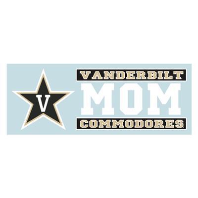 Vanderbilt Mom Decal 6'