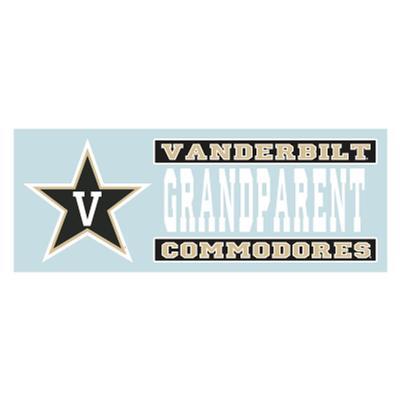 Vanderbilt Grandparent Decal 6'