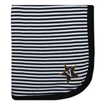 Vanderbilt Striped Baby Blanket