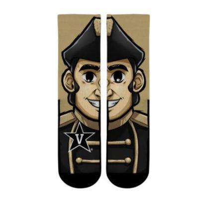 Vanderbilt Mascot Sock