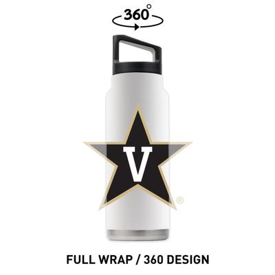 Vanderbilt 40 oz Primary Logo Bottle