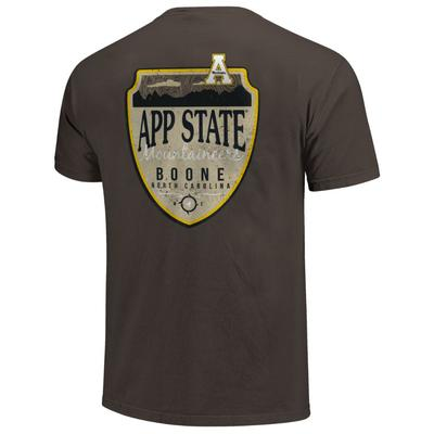 Appalachian State Comfort Colors Shield Tee