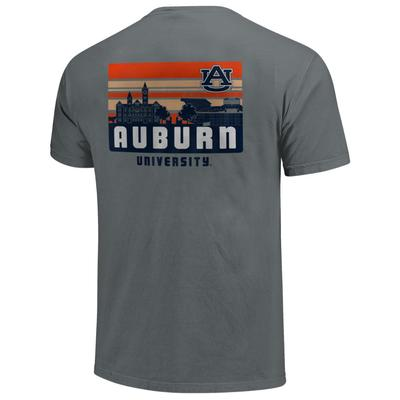 Auburn Comfort Colors Campus Skyline Tee