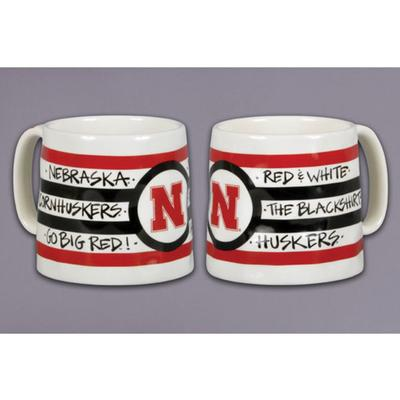 Nebraska Magnolia Lane Slogan Mug