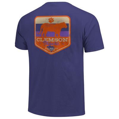 Clemson Comfort Colors Mascot Badge Tee