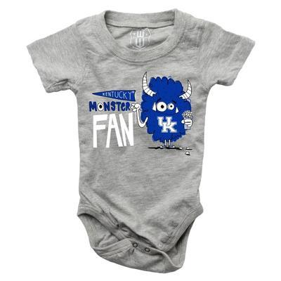Kentucky Infant Monster Fan Onesie