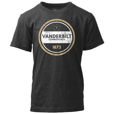 Vanderbilt Kids Circle Short Sleeve Tee