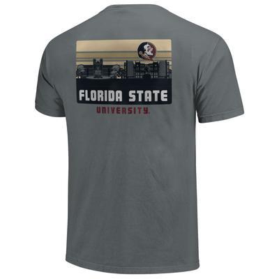 Florida State Comfort Colors Campus Skyline Tee