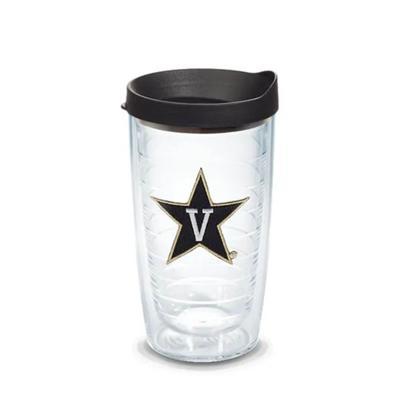 Vanderbilt Tervis 16 oz V-Star Logo Tumbler