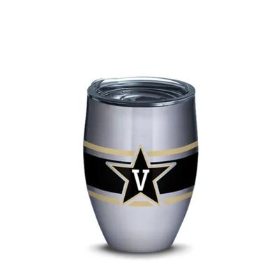 Vanderbilt Tervis 12 oz Stripe Tumbler
