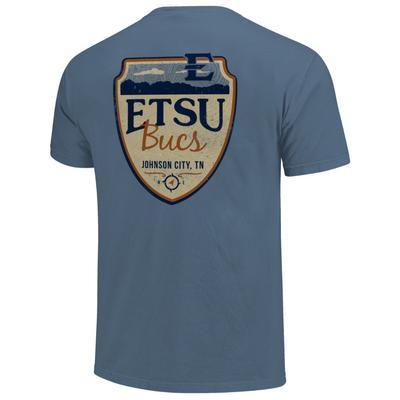 ETSU Comfort Colors Mountain Shield Tee