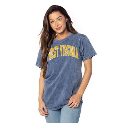 West Virginia Chicka-D Everybody Tall Outline Tee
