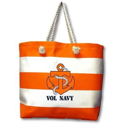 Vol Navy Rope Tote Bag