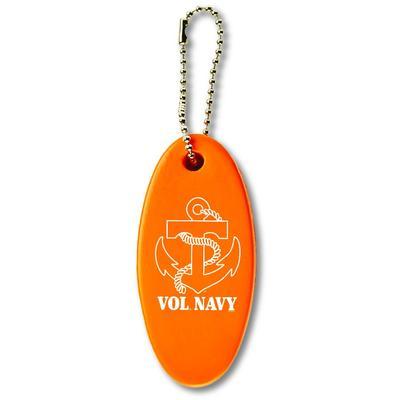 Vol Navy Floating Key Chain