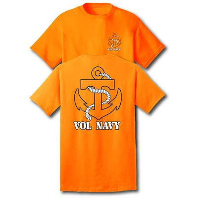 Vol Navy Anchor Short Sleeve T-Shirt