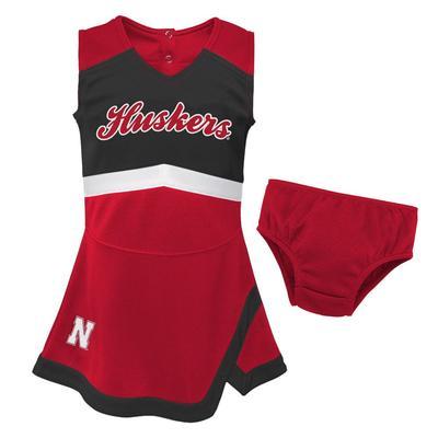 Nebraska Gen2 Toddler Cheer Dress with Bloomer