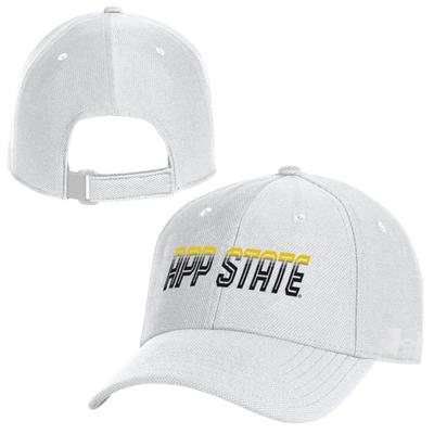 App State Under Armour Blitzing 3.0 Adjustable Hat