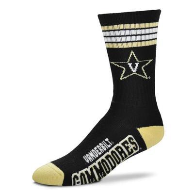 Vanderbilt 4-Stripe Deuce Sock