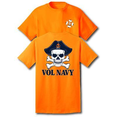 Vol Navy Skull Short Sleeve Tee