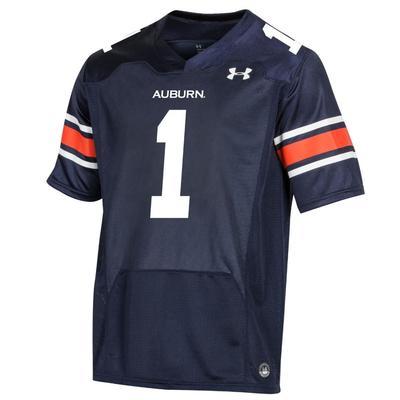 Auburn Under Armour Youth Replica #1 Jersey