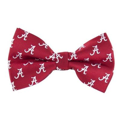Alabama Repeat Logo Bow Tie