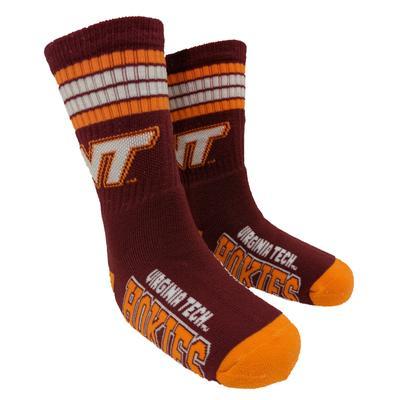 Virginia Tech Youth Stripe Deuce Socks