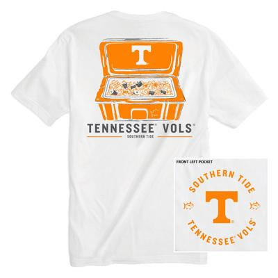 Tennessee Southern Tide Cooler Short Sleeve Tee
