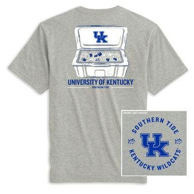Kentucky Southern Tide Cooler Short Sleeve Tee Shirt