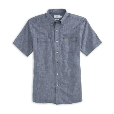 Tennessee Southern Tide Dock Chambray Shirt