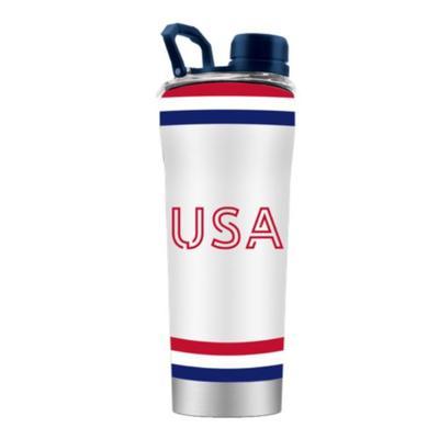 USA GameTime Sidekicks 24 Oz Striped Shaker Bottle