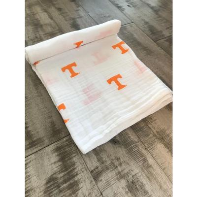 Tennessee Cotton Muslin Swaddle Blanket