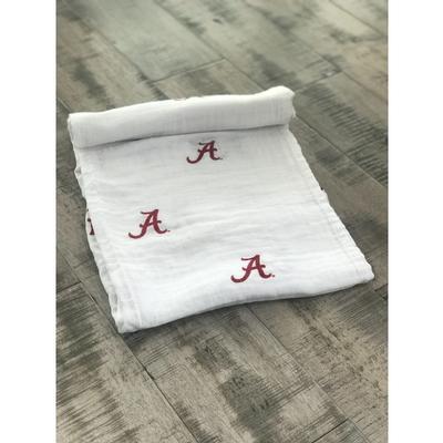 Alabama Cotton Muslin Swaddle Blanket