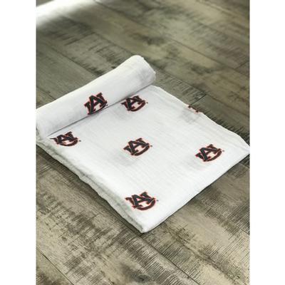 Auburn Cotton Muslin Swaddle Blanket