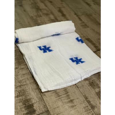 Kentucky Cotton Muslin Swaddle Blanket