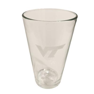 Virginia Tech 16 Oz. Etched Pint Glass
