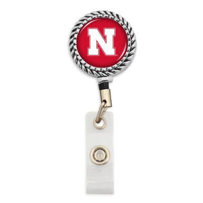 Nebraska Circle Rope Badge Reel