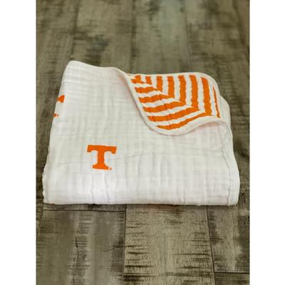 Tennessee Four Layer Cotton Baby Blanket